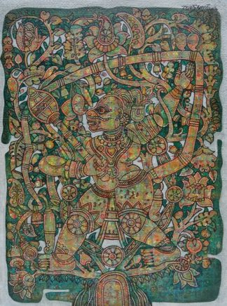 Hanuman by Veera Santhanam