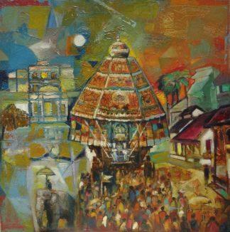 Swamimalai Temple Chariot by G Gangatharan