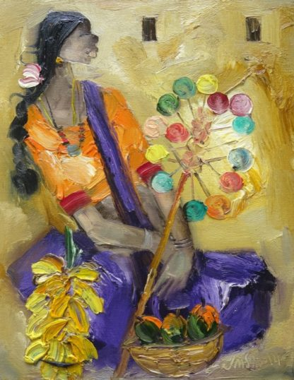 Badami Woman 2 by J M S Mani