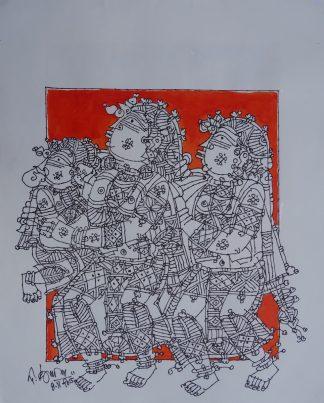 Baby Ganesha 2 by G Raman