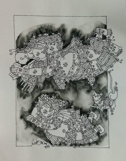 Ganesha and Muruga by G Raman