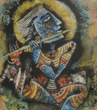 Krishna by M Senathipathi at Iba Arts and Crafts