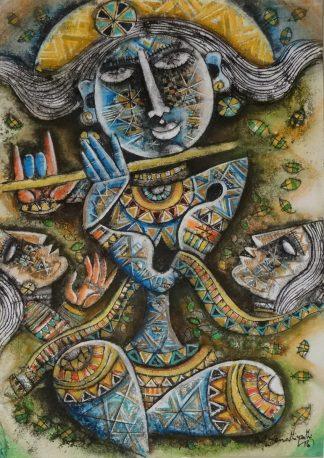 Krishna by M Senathipathi