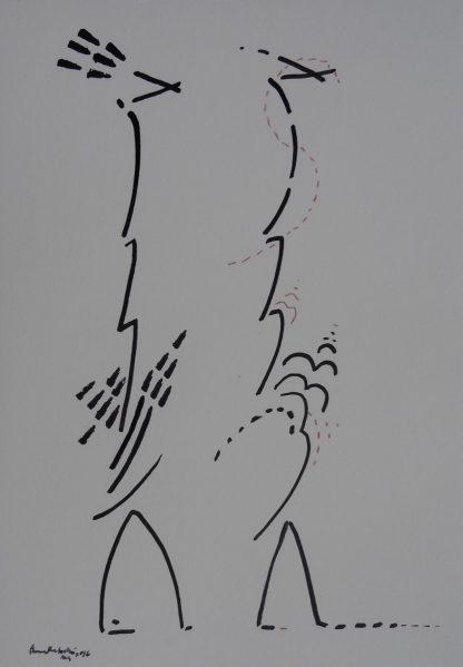 Birds by artist Premalatha Seshadri at Iba Arts and Crafts