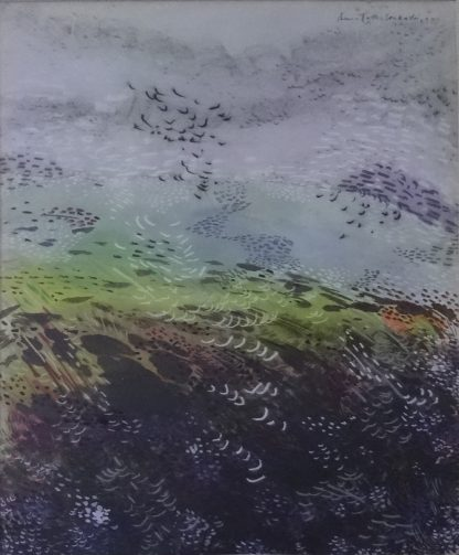 Landscape by artist Premalatha Seshadri at Iba Arts and Crafts