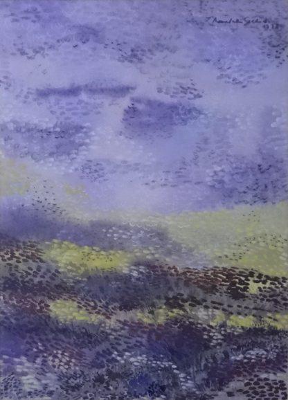 Landscape by artist Premalatha Seshadri at Iba Arts and Crafts