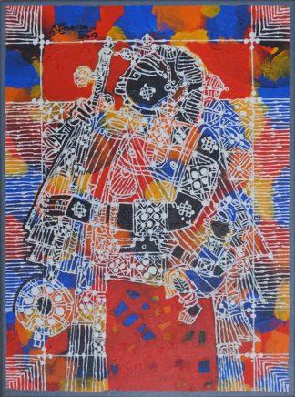 Village Girl - Tambura by G Raman