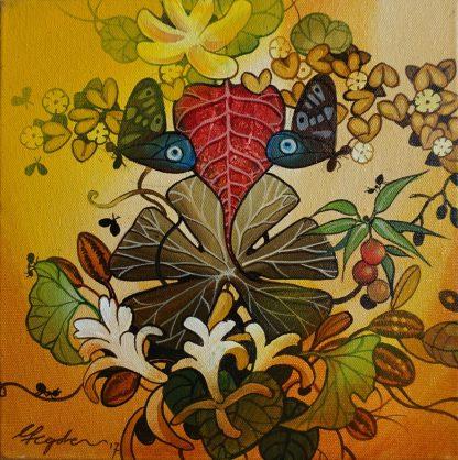 Praising Nature - Ganesha by Ganapati Hegde