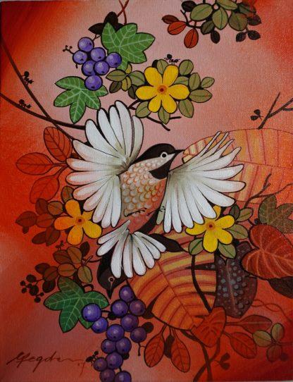 Flying Bird by Ganapati Hegde