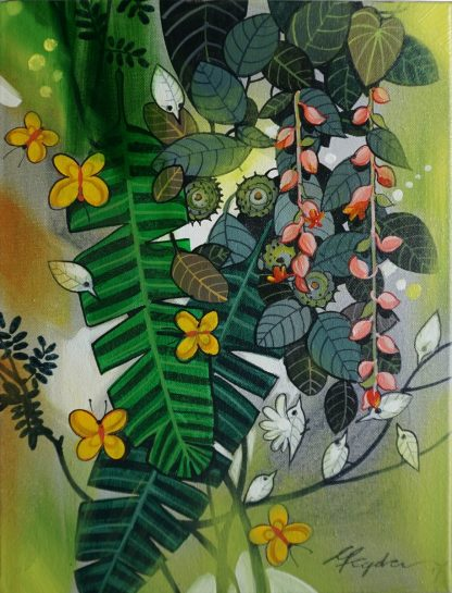 Birds and Butterflies by Ganapathi Hegde