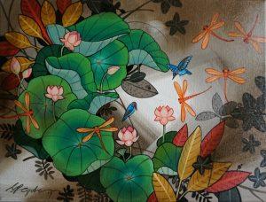 Lotus Pond by Ganapathi Hegde