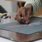 Pastel Demo at Iba Arts and Crafts