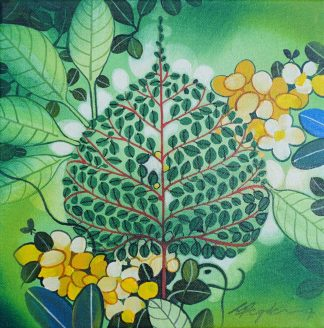 Lives in a leaf by Ganapati Hegde