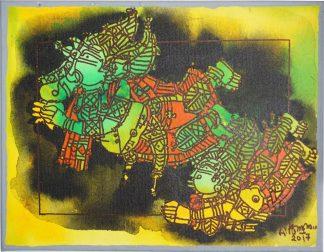 Ganesha and Muruga - The Golden Fruit by G Raman