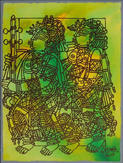 Musicians - Tambura by G Raman