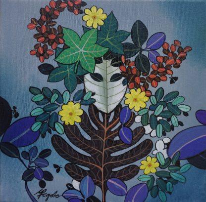 Leaf Mask by Ganapati Hegde