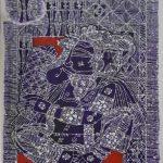 Painting demo By artist G Raman at Iba arts and Crafts