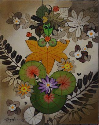 Goddess by Ganapati Hegde