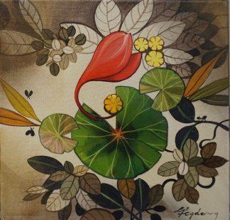 Lotus Face by Ganapati Hegde